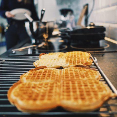 Waffle baking tools